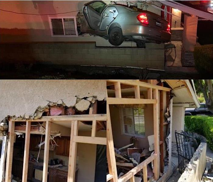 Stolen car into home in Rowland Heights
