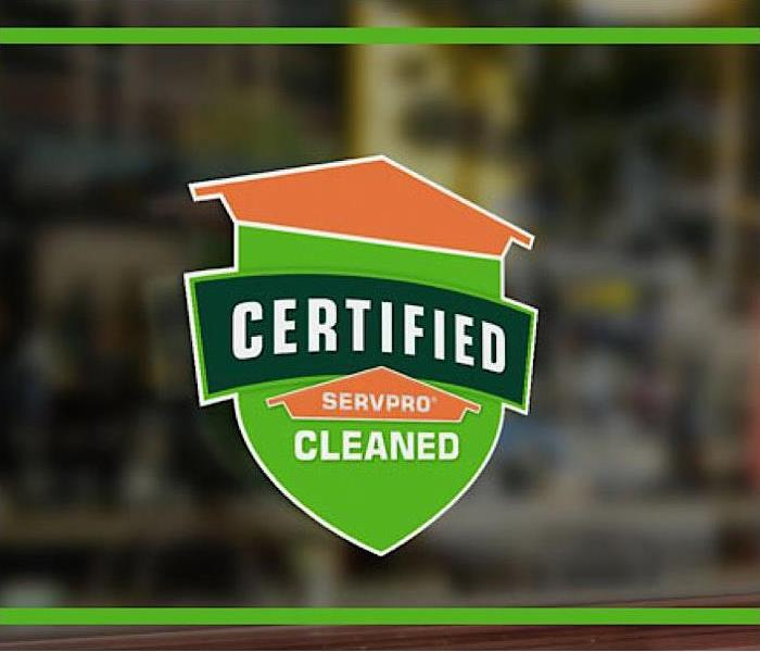 Certified SERVPRO Cleaned