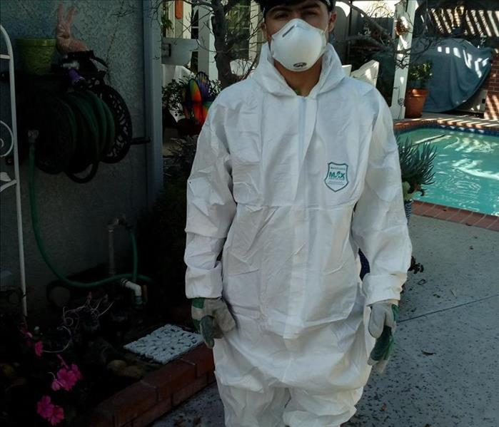 Mold Mitigation Protective Suit